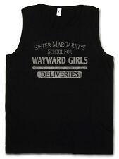 SISTER MARGATE'S SCHOOL FOR WAYWARD GIRLS TANK TOP VEST GYM Deliveries Deadpool