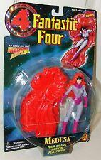 Fantastic Four FF4 Marvel Medusa Action Figure w/Hair Snare - Toy Biz 1996