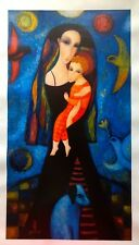 "Sergey Smirnov ""Heralds"" 27,5""x15"" Mixed Media Limited Edition #3/25 Canvas COA"