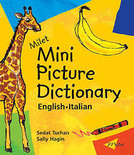 Milet Mini Picture Dictionary: English-Italian-ExLibrary