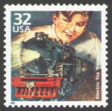 SPECIAL! Electric Toy Trains of the 1920s Lionel HO Commemorative US Stamp MINT!