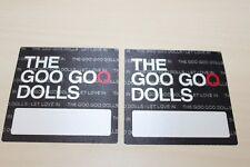 The Goo Goo Dolls -2 x Backstage Pass - Free Postage -