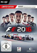 F1 2016 - Limited Edition (PC, 2016, DVD-Box)