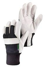 2 pair Hestra JOB Tellur Men's Grain Leather 74130 size 8 Thinsulate