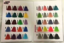 Crazy Color CHART ONLY Semi-Permanent Hair Dye Hair Colour Cream