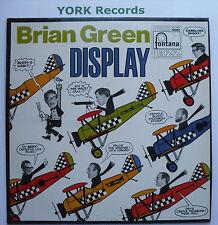 BRIAN GREEN - Brian Green Display - Excellent Con LP Record Fontana SFJL 912