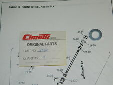 Cimatti City Bike Moped Front Wheel Axle Washer  #2650