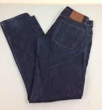 Unbranded Brand Men Selvedge Skinny Jeans Size 32 Blue - Very Good