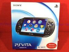 FW1.03-3.60 PS Vita PCH-1000 1100 ZA01 Black Console Japan F/S NEW