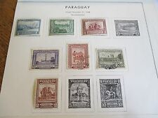 1944 PARAGUAY 7 STAMPS AIR MAIL U& MH - FREE SHIPPING WORLD WIDE
