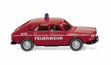 Feuerwehr - VW 411 1968 Wiking 086139 Spur H0 1:87 Modellauto