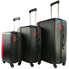 3pcs Travel Luggage Set Lightweight Suitcase TSA Lock Carry On Bag Hard Case