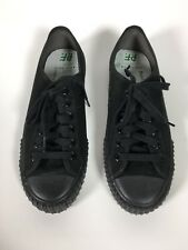 PF FLYERS SNEAKERS SHOES LOW TOP BLACK MENS SIZE 8 WOMENS SIZE 9.5 SANDLOT NEW