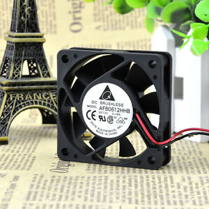 Delta AFB0612HHB fan 60*60*15mm 12V 0.18A 2 wires