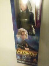 Marvel Infinity War Titan Hero Black Widow Titan Hero Power Port +uv glasses lot