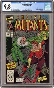 New Mutants #86 CGC 9.8 1990 0317175003