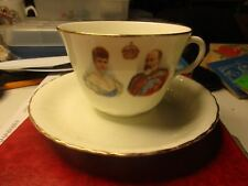 Royal Doulton - 1902 Coronation Cup & Saucer - Edward VII
