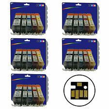 25 Inks for Canon MG5150 MG5250 MG5350 MG6150 iP4850 iX6550 non-OEM 525/6