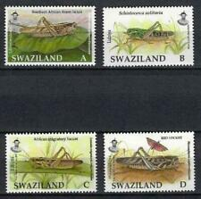 Swaziland 2012 sauterelles n° 795 à 798 neuf ** MNH