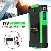1X(High Power Car Jump Starter 20000MAh Starting Device with Charger,12V 60 S9V8