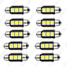 10X 36mm CANBUS Error Free 3 LED 5050 SMD 6418 C5W License Plate Dome Light Bulb