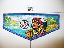 564 Osceola,1915-2015,100th Ann OA Flap,BLU,219,552,Southwest Florida Council,FL
