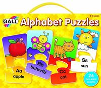 Galt Toys Alphabet Puzzles KIDS ALPHABET LEARNING FUN PUZZLE BRAND NEW FREE P&P
