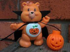 "CUSTOM Vintage 3"" Poseable Kenner Care Bears Figure TRICK OR SWEET Halloween"
