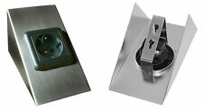230Volt Set Unterbau Steckdose Küchensteckdose Aufbausteckdose