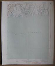 "1944 Map Tisbury Great Pond Ma Quad Geological Survey 16x20"" (Martha's Vineyard)"