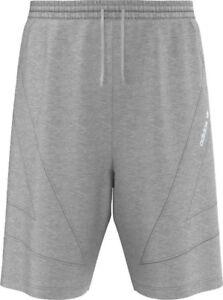 Adidas originals marl grey fleece shorts 30 waist xs men's RRP £50 bnwt