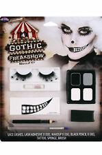 Brand New Gothic Freak Show Evil Dead Clown Face Paint Makeup Kit