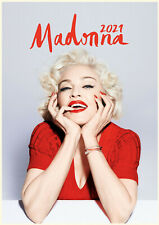 2021 Wall Calendar [12 pages A4] MADONNA Vintage Music Poster Photo M1233