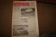 Motoring News 13 February 1975 Varmland Runt & Galway Rally Oran Park Tasman