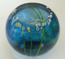 """Ltd Ed Caithness """"Summer Pool"""" Paperweight - Colin Terris(119/250) - >3"""""""