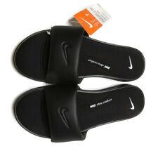 Nike Womens Ultra Comfort 3 Black White Slide Sandals Size 7 New