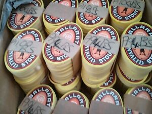 Australia vintage Ballarat Bitter CUB brewery beer bottle labels 1000 bundle lot