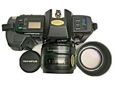 Olympus OM707 Autofocus SLR mit 3 Objektiven