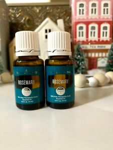 Set of two, YOUNG LIVING ESSENTIAL OILS * Rosemary * NEW SEALED 15ml