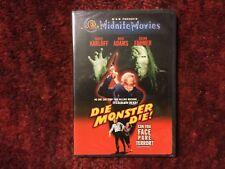 Die Monster Die ! with Boris Karloff & Susan Farmer : New Midnite Movies