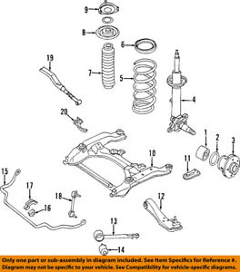 Infiniti NISSAN OEM 97-01 Q45-Front Wheel Bearing 4021010Y00