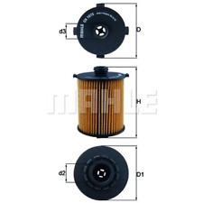 Ölfilter - Mahle OX 1075D