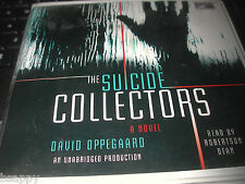 The Suicide Collectors David Oppegaard UNABRIDGED AUDIO 6 CDs 7 hrs Fantasy SF