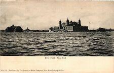 Vintage Postcard - Posted Undivided Back Ellis Island New York NY #3224