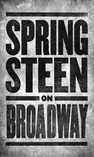 Bruce Springsteen Poster Springsteen On Broadway Walter Kerr Theatre New York