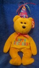 Ty Beanie Baby Celebration Birthday Bear 2010