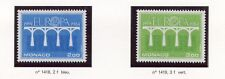STAMP / TIMBRE DE MONACO N° 1418/1419 ** EUROPA 1984