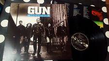 "GUN ""TAKING ON THE WORLD"" LP A&M Records 397 007-1 EU 1989"