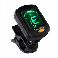 Lcd Electric Guitar Tuner Clip-on Chromatic Acoustic Bass Ukulele Violin Best