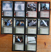 Lord of the Rings CCG Mines of Moria Rare Cards Part 2/2 LotR MoM TCG